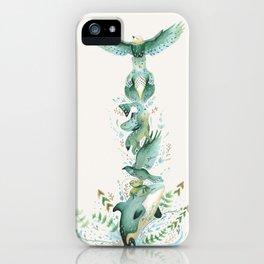Imagine a Totem iPhone Case