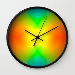 The Splitting Universe. Wall Clock