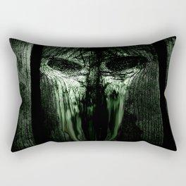The Evil Woodboard  Rectangular Pillow