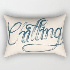 Just Chilling Rectangular Pillow
