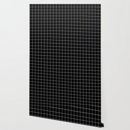Grid Simple Line Black Minimalist Wallpaper