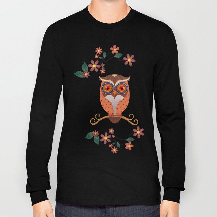 Summer Owl Long Sleeve T-shirt