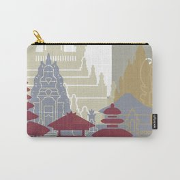 Bali skyline poster Carry-All Pouch