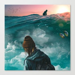 Extreme Melancholy by GEN Z Canvas Print