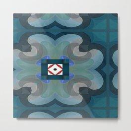 Beautywave Pattern 2 Metal Print