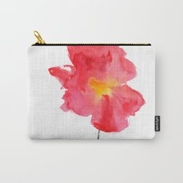 Dream big || watercolor flower Carry-All Pouch