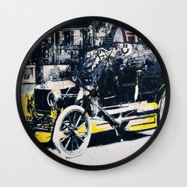 FML Taxi Wall Clock