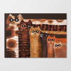 Cat Burglars Canvas Print