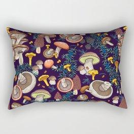 Dark dream forest Rectangular Pillow