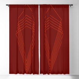 Throne - Red on Red Blackout Curtain