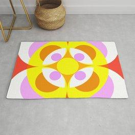 Atepomaros - Colorful Abstract Art Rug