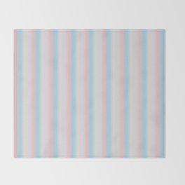 Candy stripe Throw Blanket
