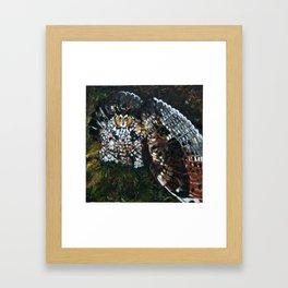 Perceval the Owl Framed Art Print