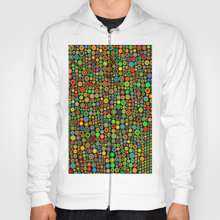 Colorful dots Hoody