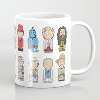 robin williams Mugs featuring Robin Williams  by Big Purple Glasses
