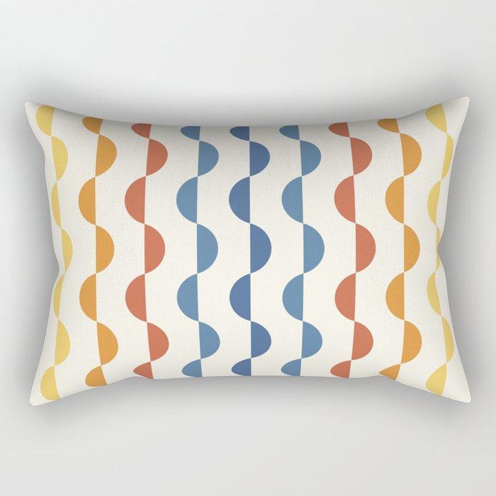Gwynne Pattern - Vintage 70's Rectangular Pillow