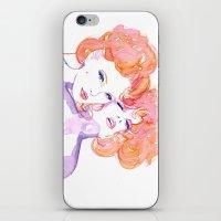 klimt iPhone & iPod Skins featuring Klimt Mistresses by Nicola MacNeil