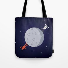 Space Walk Tote Bag