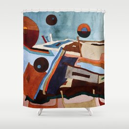 Landscape of the Heart Shower Curtain
