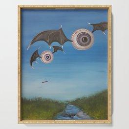 Flying Eyeballs Serving Tray