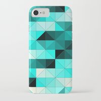 teal iPhone & iPod Cases featuring Teal by Hannah