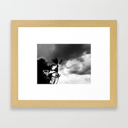 Dramatic sky Framed Art Print