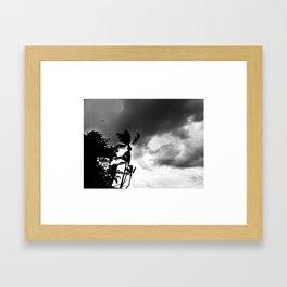Dramatic sky Framed Art Print