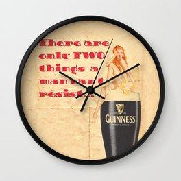 Guinness - Vintage Beer Wall Clock