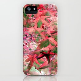 Delicate Pink Sweetgum - IA iPhone Case