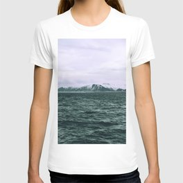 SEA - SNOW - OCEAN - ICE - COLD - COOL - PHOTOGRAPHY T-shirt