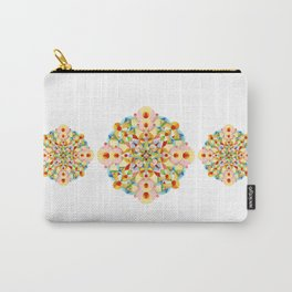 Pastel Carousel Mandala Carry-All Pouch