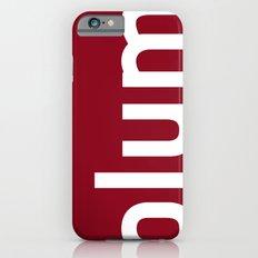 Colors - Plum Slim Case iPhone 6s