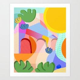 Summer Side Art Print