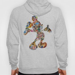 Mickey Mouse Silhouette  Hoody