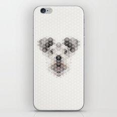 Happy pup iPhone & iPod Skin