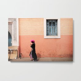 The Girl of Marrakech  Metal Print