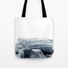 trees. wotercolor monotype Tote Bag