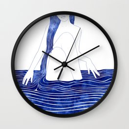 Nereid XXXIII Wall Clock