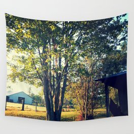 Tree in the Light Wall Tapestry