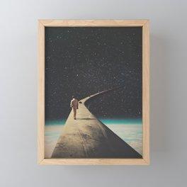 We Chose This Road My Dear Framed Mini Art Print