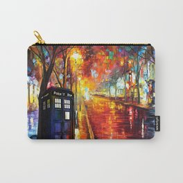 Tardis Full Color Carry-All Pouch