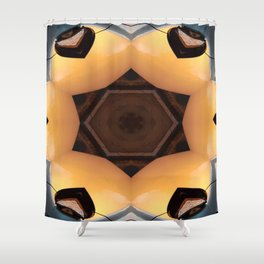 Headlights Mandala 3 Shower Curtain