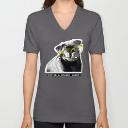 PUG SUKI -YOU'RE A WIZARD HARRY - 1 Unisex V-Neck