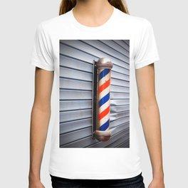 Vintage Barber Pole T-shirt