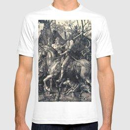 Albrecht Durer Knight Death And Devil T-shirt