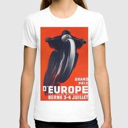 Moto Grand Prix Poster T-shirt