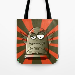 Fault 45 01 (its not his fault) Tote Bag