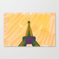 VIVE LA FRANCE Canvas Print