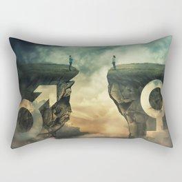 sex equality Rectangular Pillow