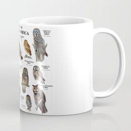 Owls of North America Coffee Mug
